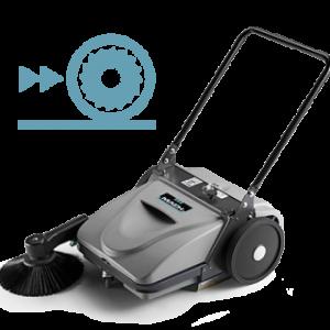 industrial cleaning equipment floor sweeper novalift equipment
