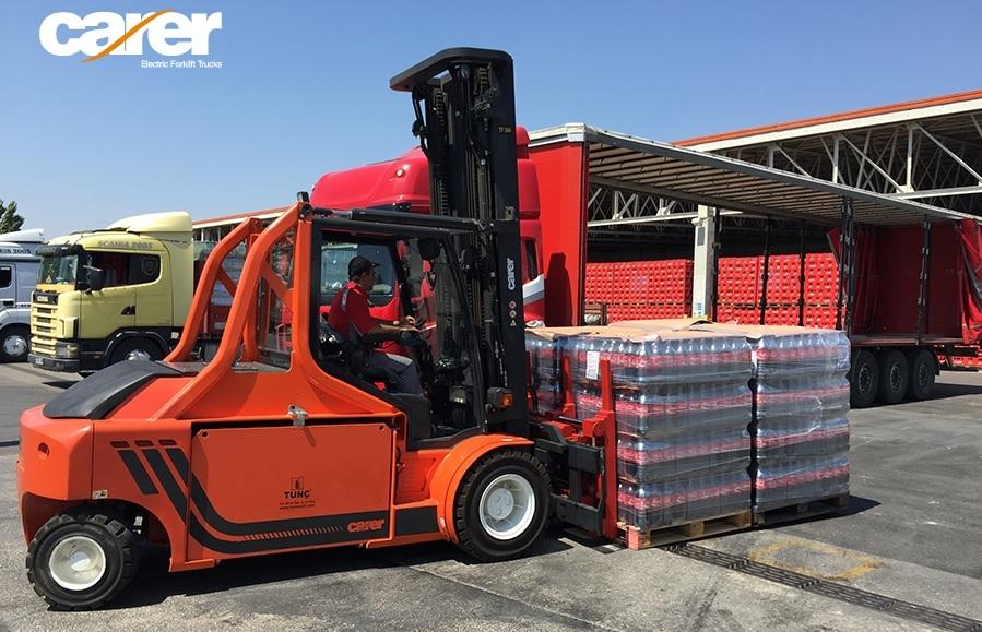 Carer Electric Forklift NovaLift Equipment