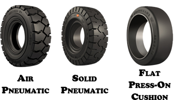 Your Guide to Understanding Forklift Tires