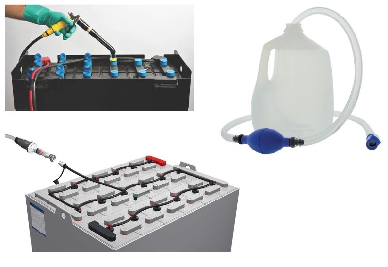 Importance of Watering Your Forklift Batteries